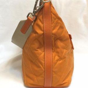 32fcaa5901a8 prada Bags | Orange Quilted Nylon Shoulder Bag Purse | Poshmark
